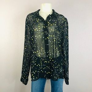 Cabi Galaxy Starry Night Blouse